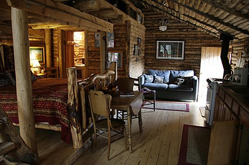 Inside The Bunk House