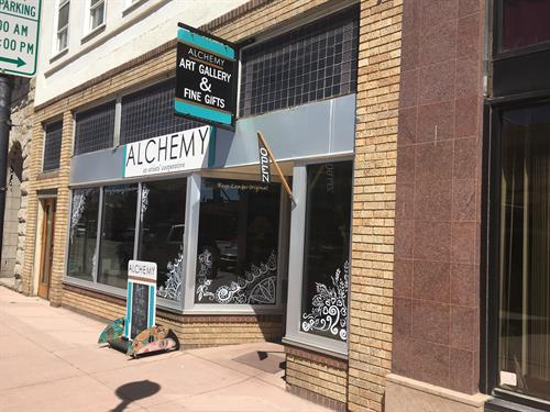 Alchemy: an artists' cooperative, 320 Main Street, Lander, WY