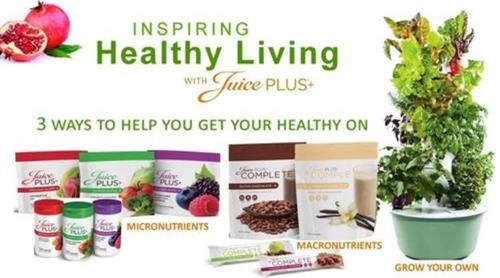 Juice Plus/Tower Garden product line