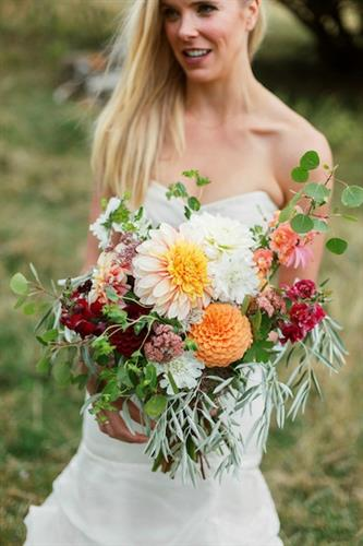 Summer bouquet by Dandelion Floral.