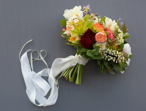 Wedding Bouquet by Dandelion Farm