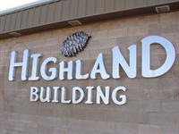 Highland Building (Gary Blackwelder) - Lander