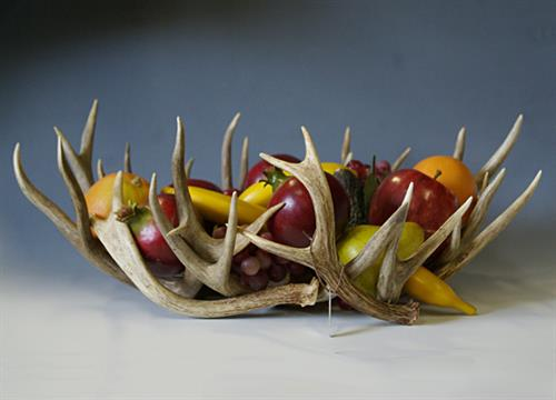 antler fruit bowl