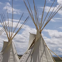 Tee Pees at the Wind River Hotel & Casino