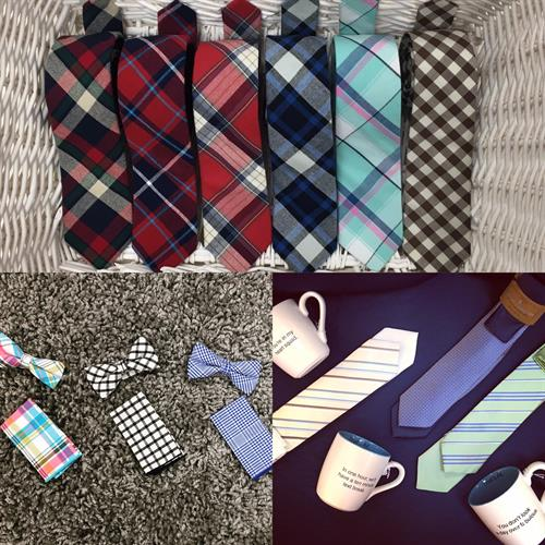Mens ties and bow ties