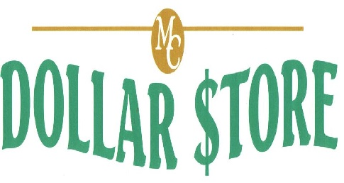 MC Dollar Store Sign