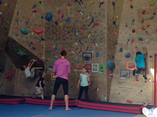 Youth Climbing program for 5-7 yr olds