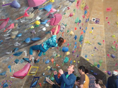 Bouldering competition at Elemental Performance Gym