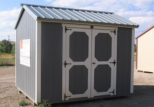 8x10 Shop-Style Shed