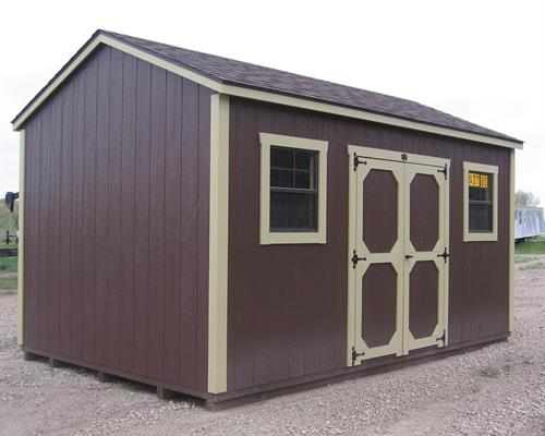 Shop-Style Storage Shed