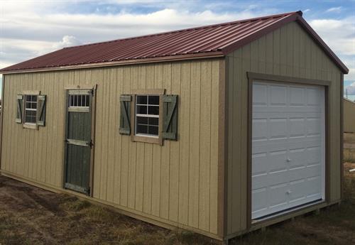 12x24 Garage