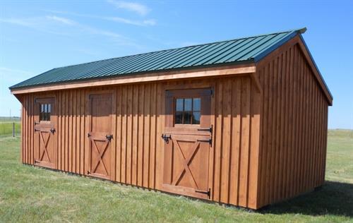 Custom Row Barn