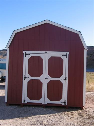 10x12 High-Wall Barn