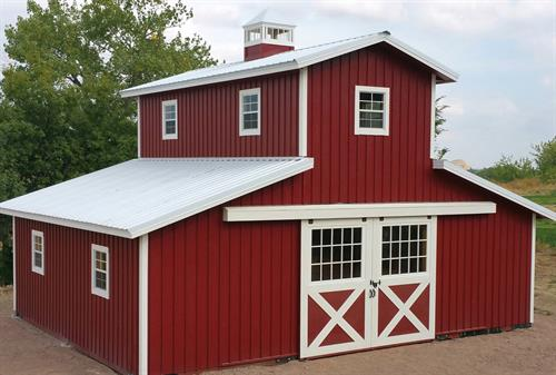 Modular Horse Barn - See Our Video Online!