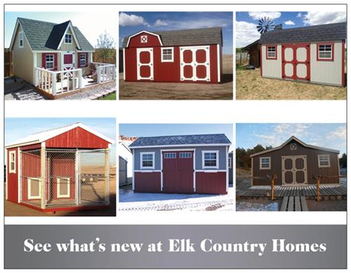 See What's New at Elk Country Homes!