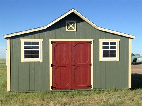 Old West Style Storage Shed