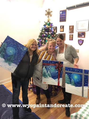 Paint Night at the Riverton Museum