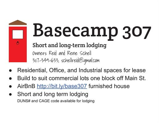 Basecamp 307, Short & long term home rental