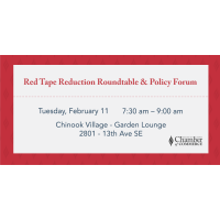 Red Tape Reduction Roundtable & Policy Forum