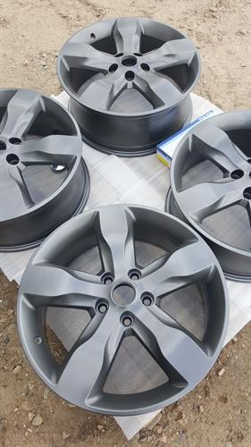 Powder coating - rims or anything metal