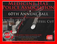 Medicine Hat Police Association 60th Annual Ball