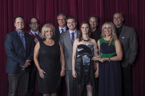Some of the ProComm Team at the 2015 Chamber Business Awards