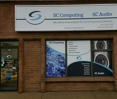 SC Computing & Audio Store Front