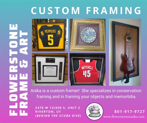 Custom Framing!
