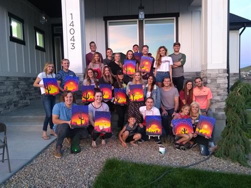 Paint Nights with Flowerstone!