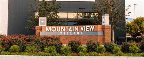 Mountain View Village Entrance