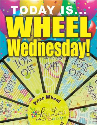 Come see us for Wheel Wednesdays at Lou Lou Beans