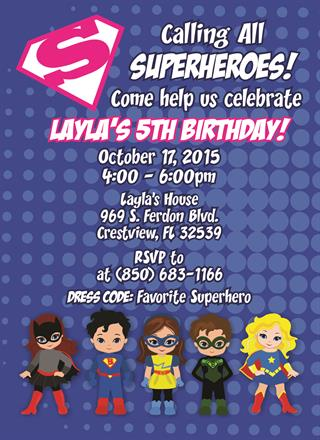 Let Speedee Printing Design Your Birthday Invitations