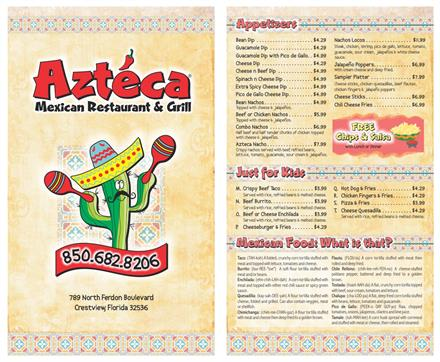 Let Speedee Printing Design Your Menu