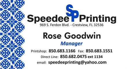 Let Speedee Printing Custom Design Your Business Cards