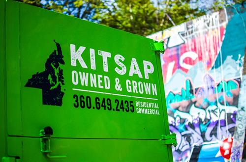 We live here. We serve here. We're a Kitsap Owned & Grown company.