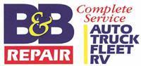 B & B Auto Repair, Inc.
