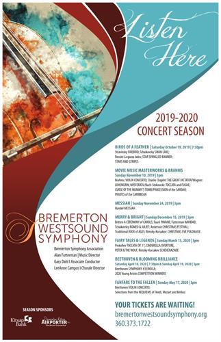 2019-2020 Concert Season Poster