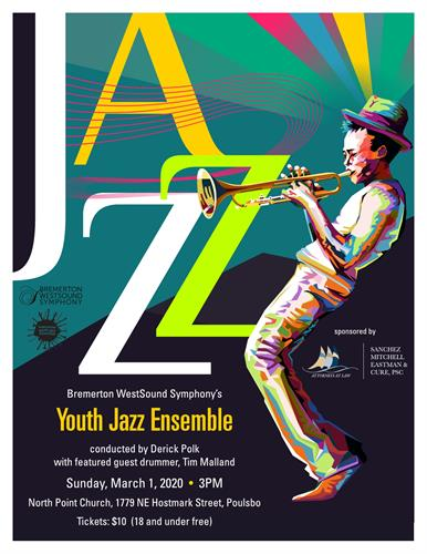2020 - Youth Jazz Concert Poster