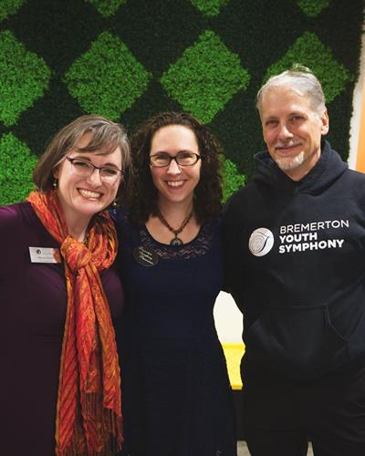 2019 - Beautiful office people! - Devon Steele, Board Secretary - Tricia Soriano, Office and Operations Manger - James Knauer, Business Manager