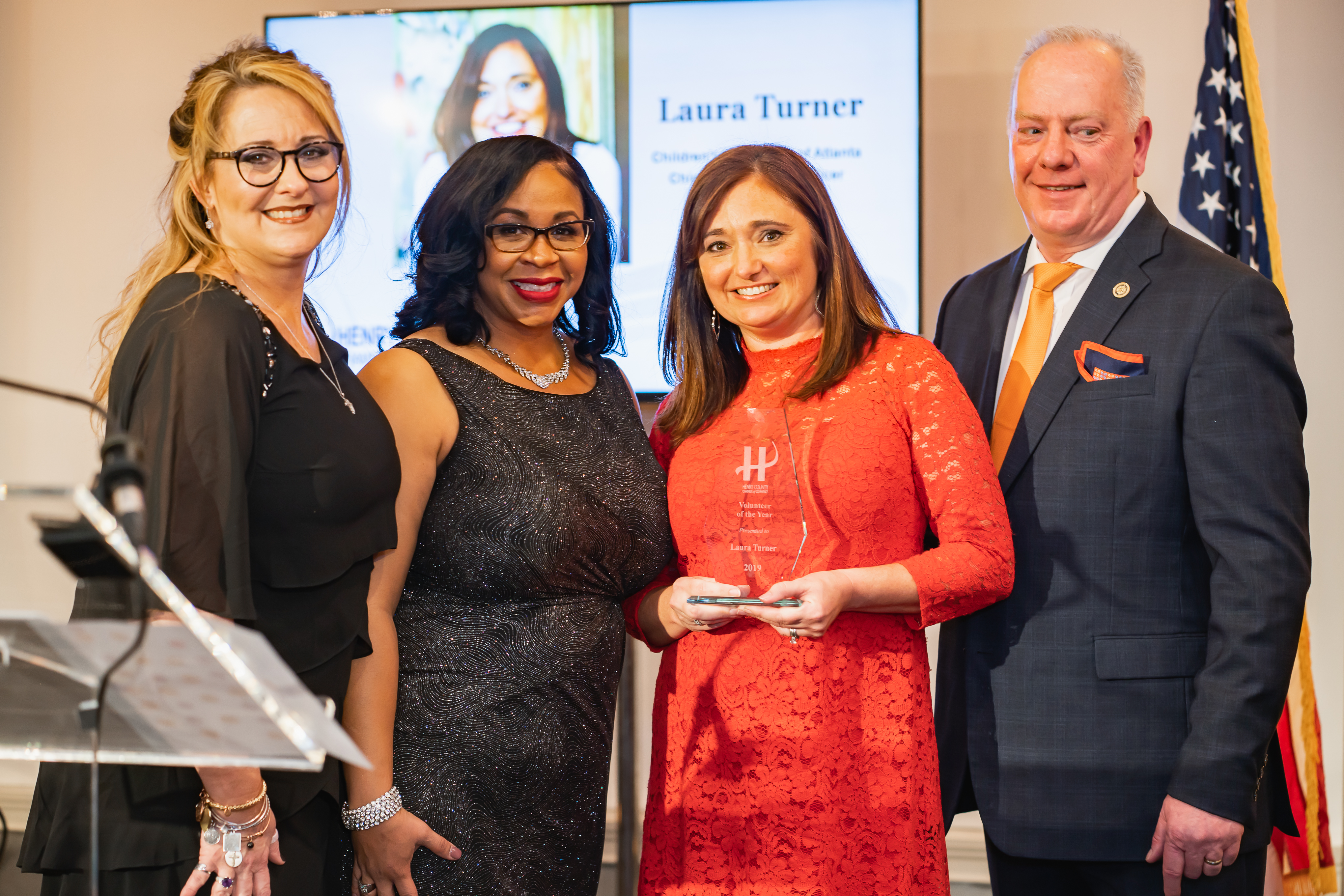 Chamber Names Volunteer of the Year 2019 – Laura Turner