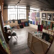 Working studios for 6 area artists