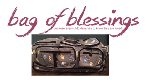 Bag of Blessings (Personalized luggage for foster children)