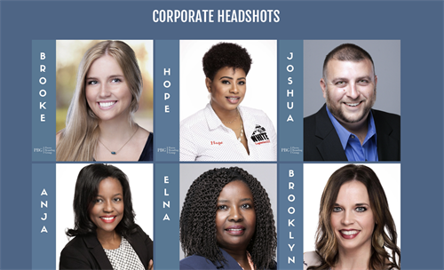 Corporate Headshots for Executives & Entrepreneurs