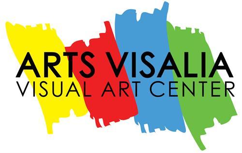 Arts Visalia logo