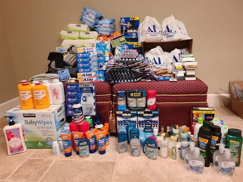 Over 700 Hygiene kits delivered to our hero firefighters in Sept. 2020