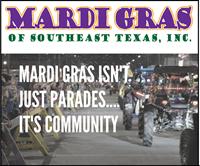 Mardi Gras Southeast Texas - Downtown Beaumont