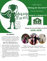 Girls' Haven ''Giving for the Girls'' Virtual Fundraiser