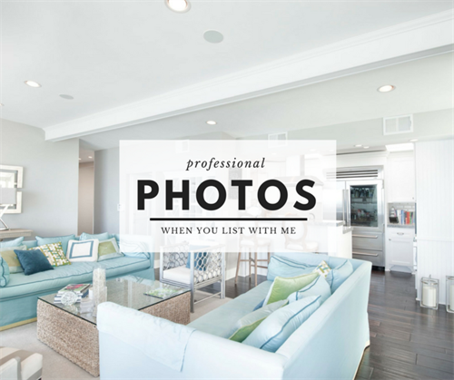 High quality, professional photos will showcase your home and bring in qualified buyers