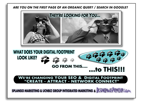 WHAT DOES YOUR DIGITAL FOOTPRINT LOOK LIKE? Are you visible in Mobile & Organic Search Query?
