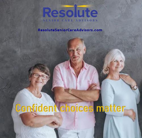 Confident Choices Matter!
